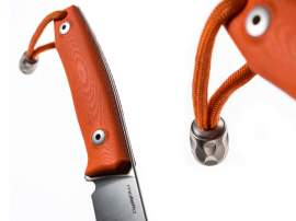 LionSteel M1 G10 Orange vadászkés