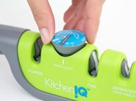 KitchenIQ állítható élszögű kézi élező