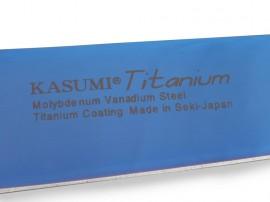 Kasumi Titanium Santoku japán szakácskés 18cm